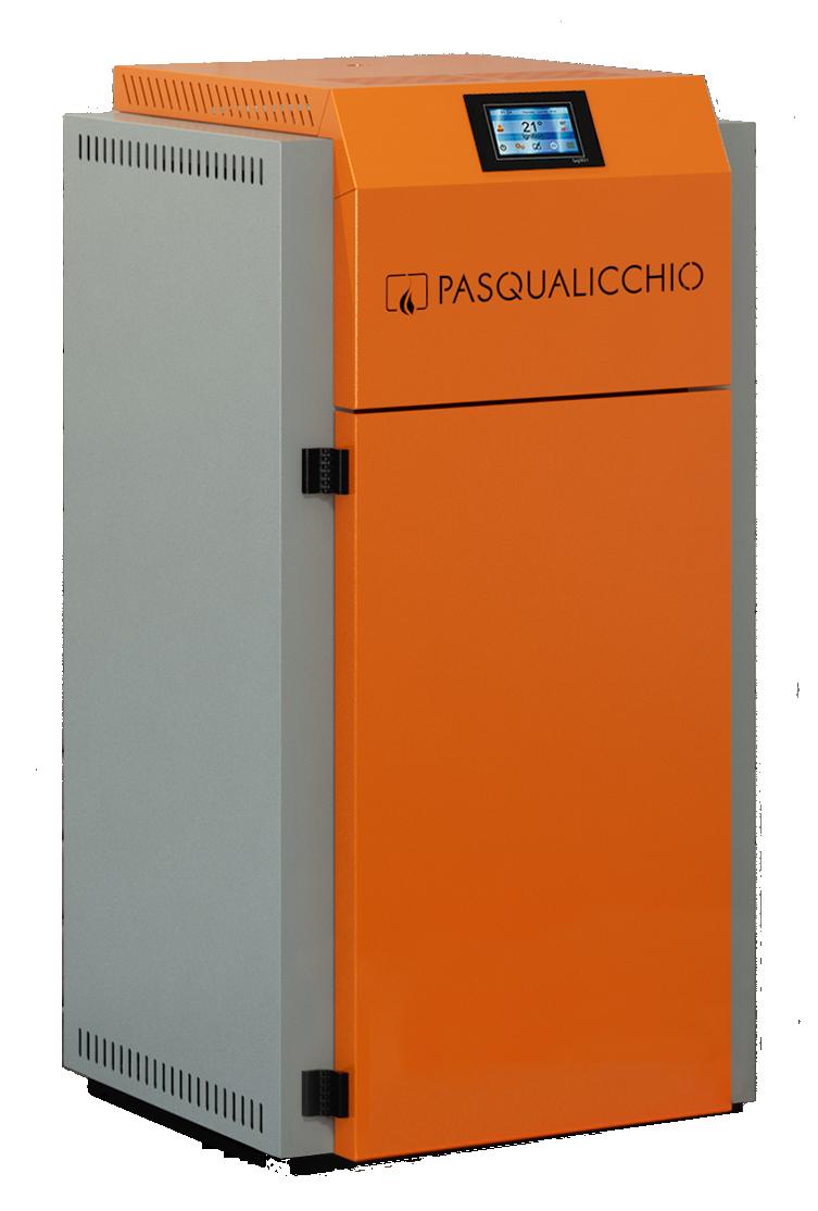 Kompakt pelletikatel Pasqalicchio CANTINOLA PLUS 20 KW